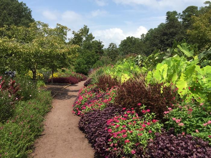 Pathway Sarah P. Duke Gardens, Historic Terraces photo by Kathy Miller