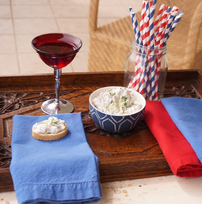 Ole Miss Trout Dip with Crostini photo by Kathy Miller