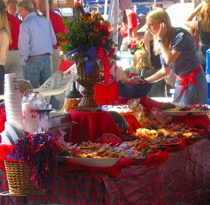 Ole Miss Tailgate photo by Kathy Miller