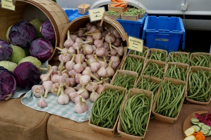 Dorset Farmers Market Vermont photo by Kathy Miller