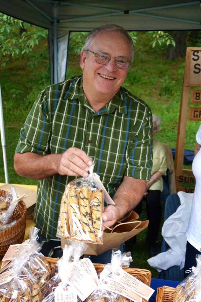 Biscotti from Dorset Farmers Market photo by Kathy Miller