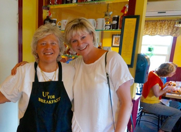 Bonnie Bruce Up With Breakfast photo by Kathy Miller