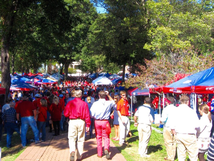 Ole Miss Tailgating In The Grove photo by Kathy Miller