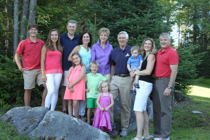 The Kolar family at Camp Winape photo courtesy Ron and Janet Kolar