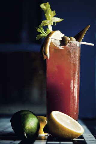 Garden & Gun's Bloody Mary from Pinterest
