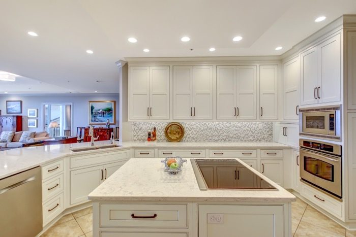 Spyglass kitchen with Wolf Invection Cooktop