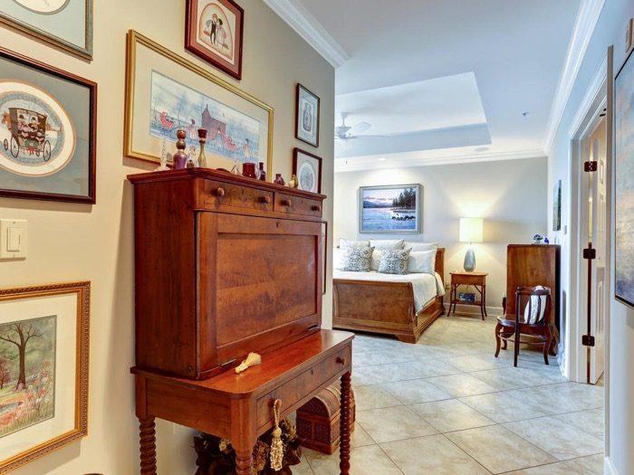 Master Bedroom entry 6529 Spyglass Villa