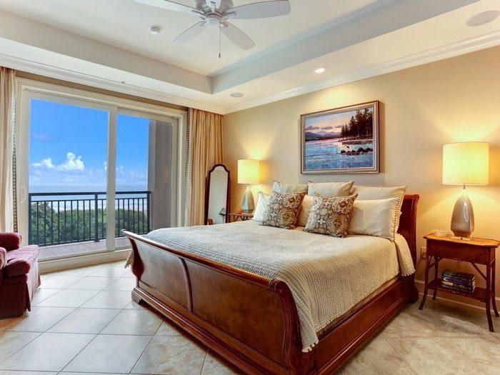 Master Bedroom Spyglass Villa Amelia Island