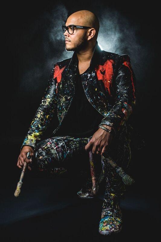 David Garibaldi live performance artist