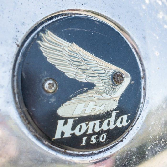1965 Honda Dream logo photo by Susan Scarborough