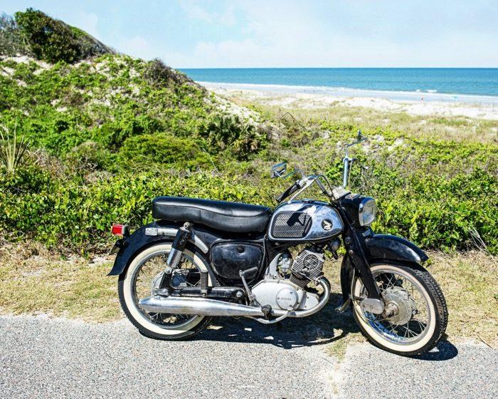 1965 Honda Dream motorcycle photo by Susan Scarborough