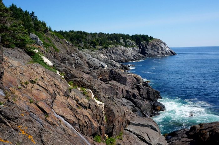 White Head on Monhegan Island overlooking Squeaker Cove with of Black head photo by Kathy Miller