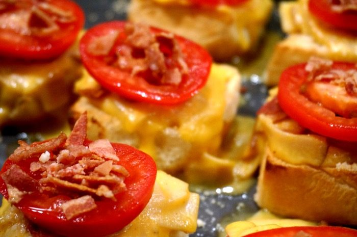 Baby Hot Browns for Kentucky Derby party photo by Kathy Miller