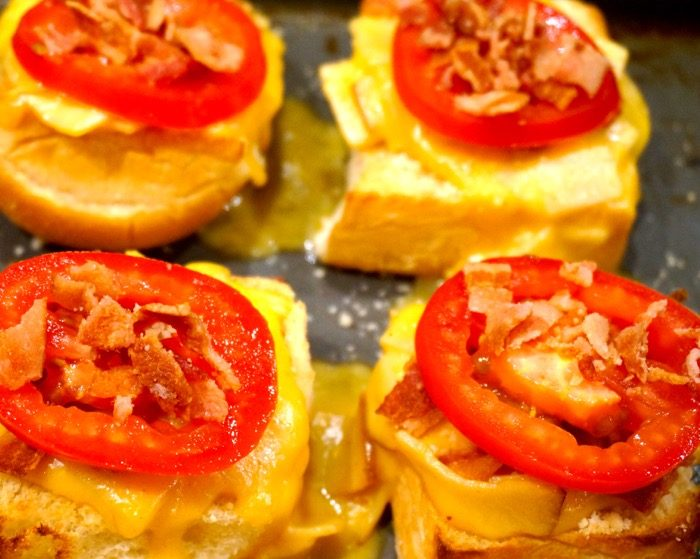 Appetizer Baby Hot Browns for Kentucky Derby photo by Kathy Miller