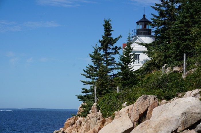 Bass Harbor Head Lighthouse Mt Desert Island Maine photo by Kathy Miller