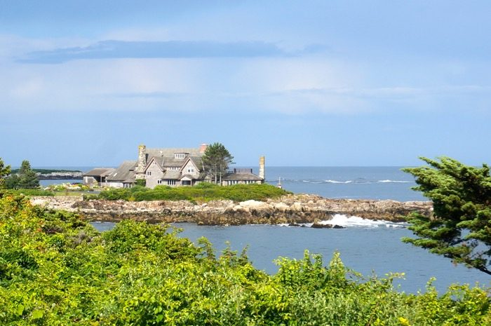 The Bush Compound, Kennebunkport, Maine