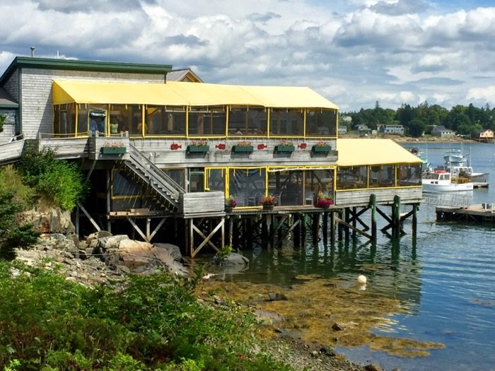 Thurston's Lobster Pound in Bernard, Maine on Mt. Desert Island photo by Kathy Miller