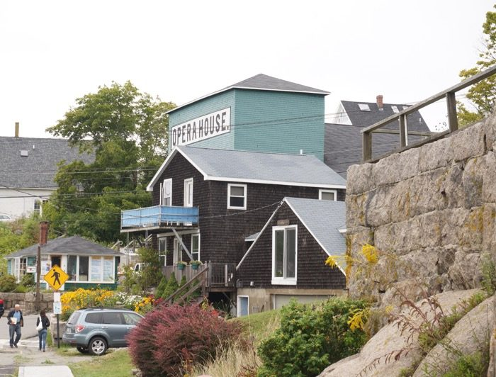 Opera House in Stonington, Maine photo by Kathy Miller
