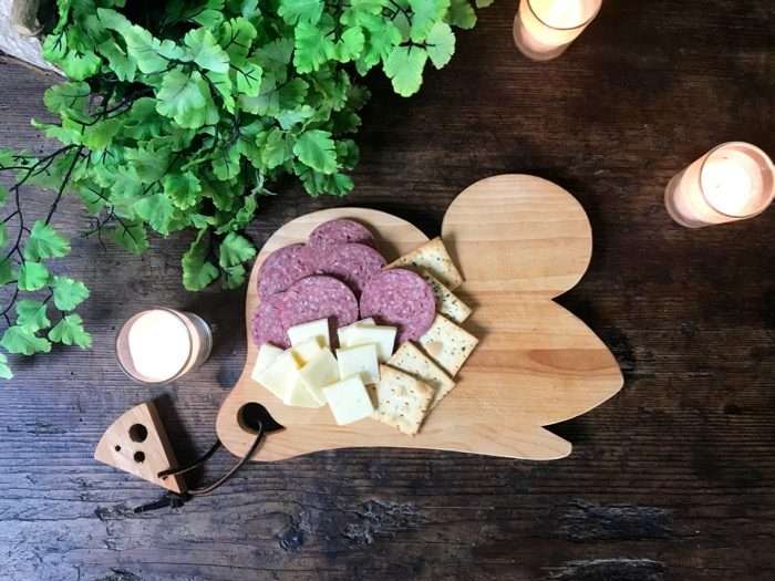 Mouse Cheese Board made in Vermont photo by Kathy Miller