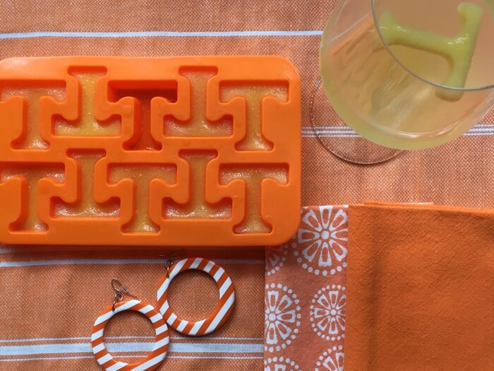 Power T Ice Cube Tray photo by Kathy Miller