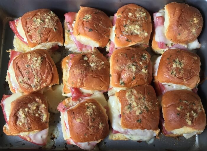 Sliders Ham & Cheese with Poppy Seed photo by Kathy Miller