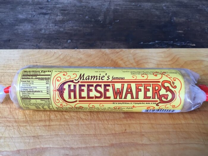 Mamie's Famous Cheese Wafers photo by Kathy Miller