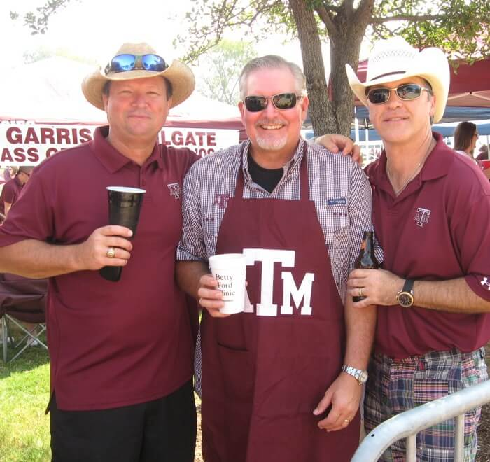 Aggie fans know how to tailgate photo by Kathy Miller