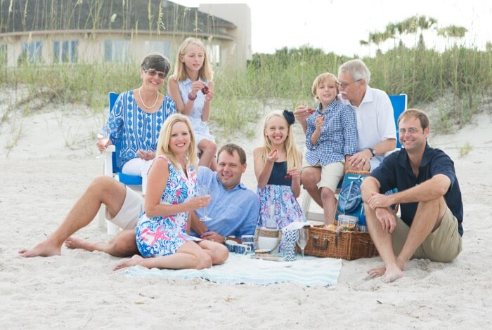 A Picnic At The Beach With The Braddocks photo by Page Tehan