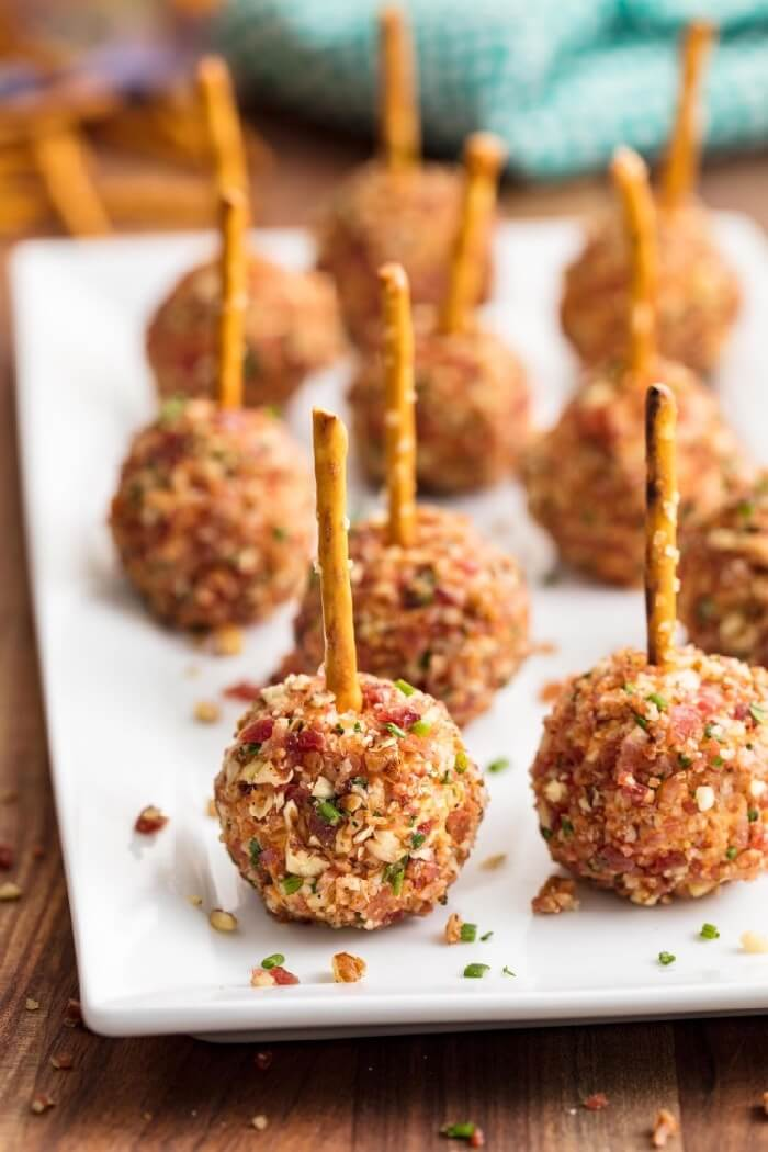 Cheese Ball Bites from Delish