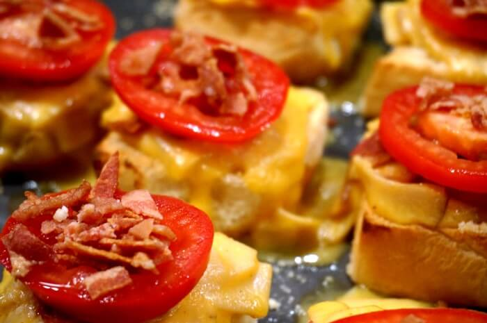Baby Hot Browns Appetizer photo by Kathy Miller
