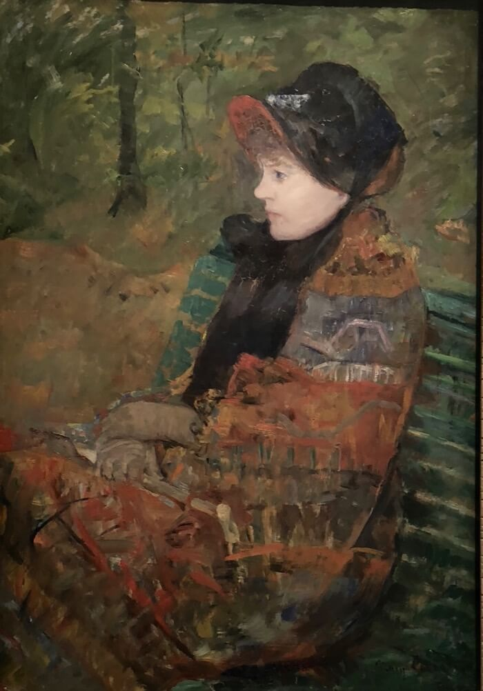 Mary Cassatt-Autumn-Portrait of Lydia Cassatt photo by Kathy Miller