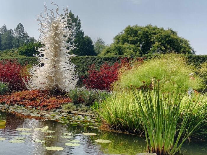 Palazzo Ducale Tower, 1996, Chihuly at Biltmore photo by Kathy Miller
