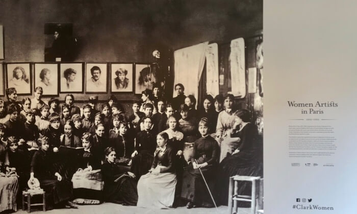 Women Artists In Paris 1850-1900, The Clark photo by Kathy Miller