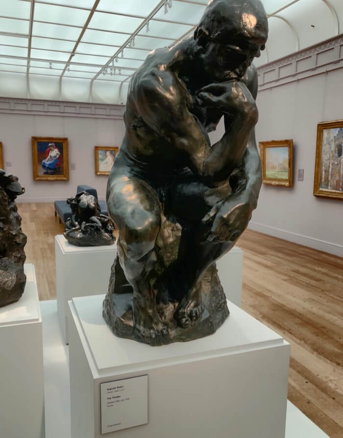 Auguste Rodin-The Thinker-Modeled 1880, Cast 1906 Bronze