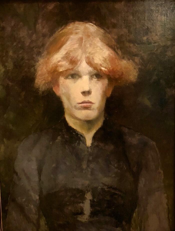 Carmen-painting by Henri de Toulouse Lautrec