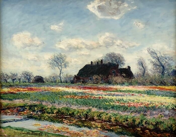 "Claude Monet-""Tulip Fields at Sassenheim"