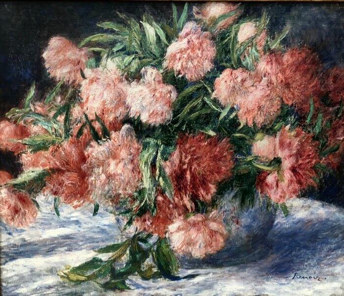 Pierre-Auguste Renoir-Peonies