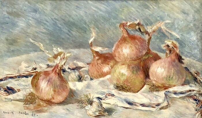 Pierre-Auguste Renoir-Onions
