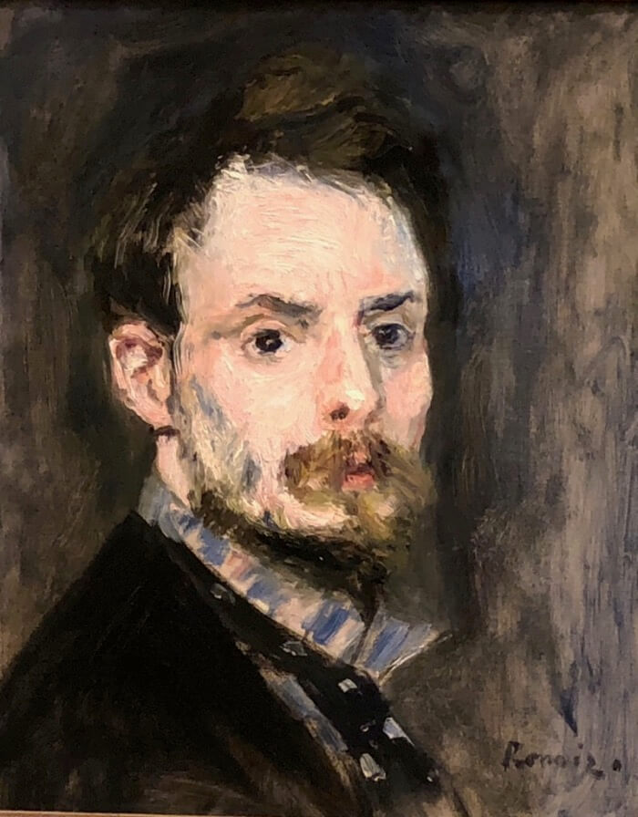 Pierre-Auguste Renoir-Self Portrait