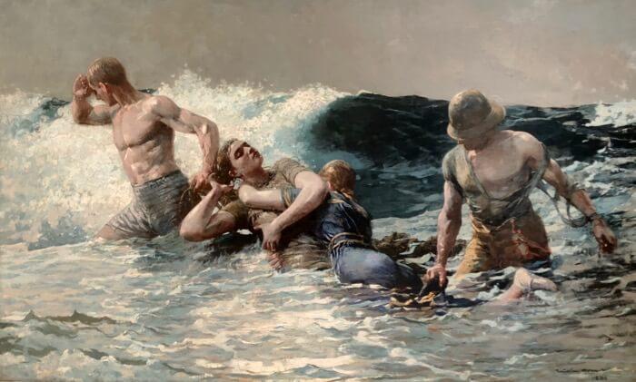 Winslow Homer- Undertow