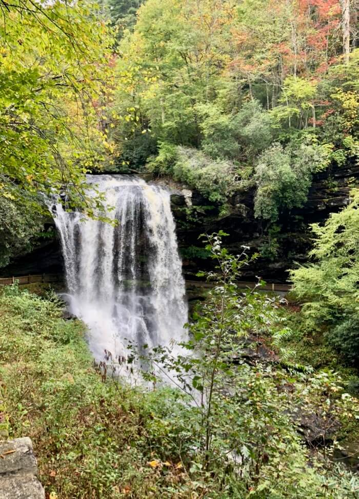Dry Falls, Highlands, NC photo by Kathy Miller