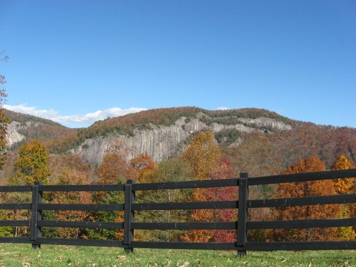 Horse Farm- Fall in NC Mountains photo by Kathy Miller