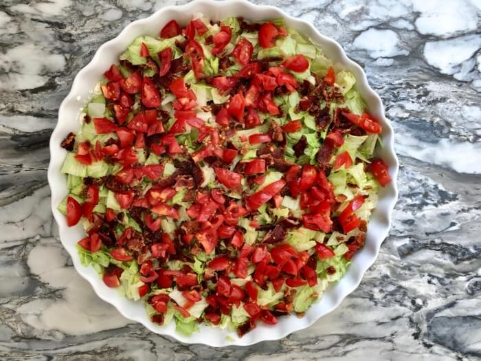 California BLT dip with avocado photo by Kathy Miller