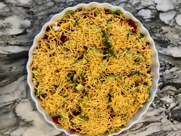 California BLT dip with cheese photo by Kathy Miller