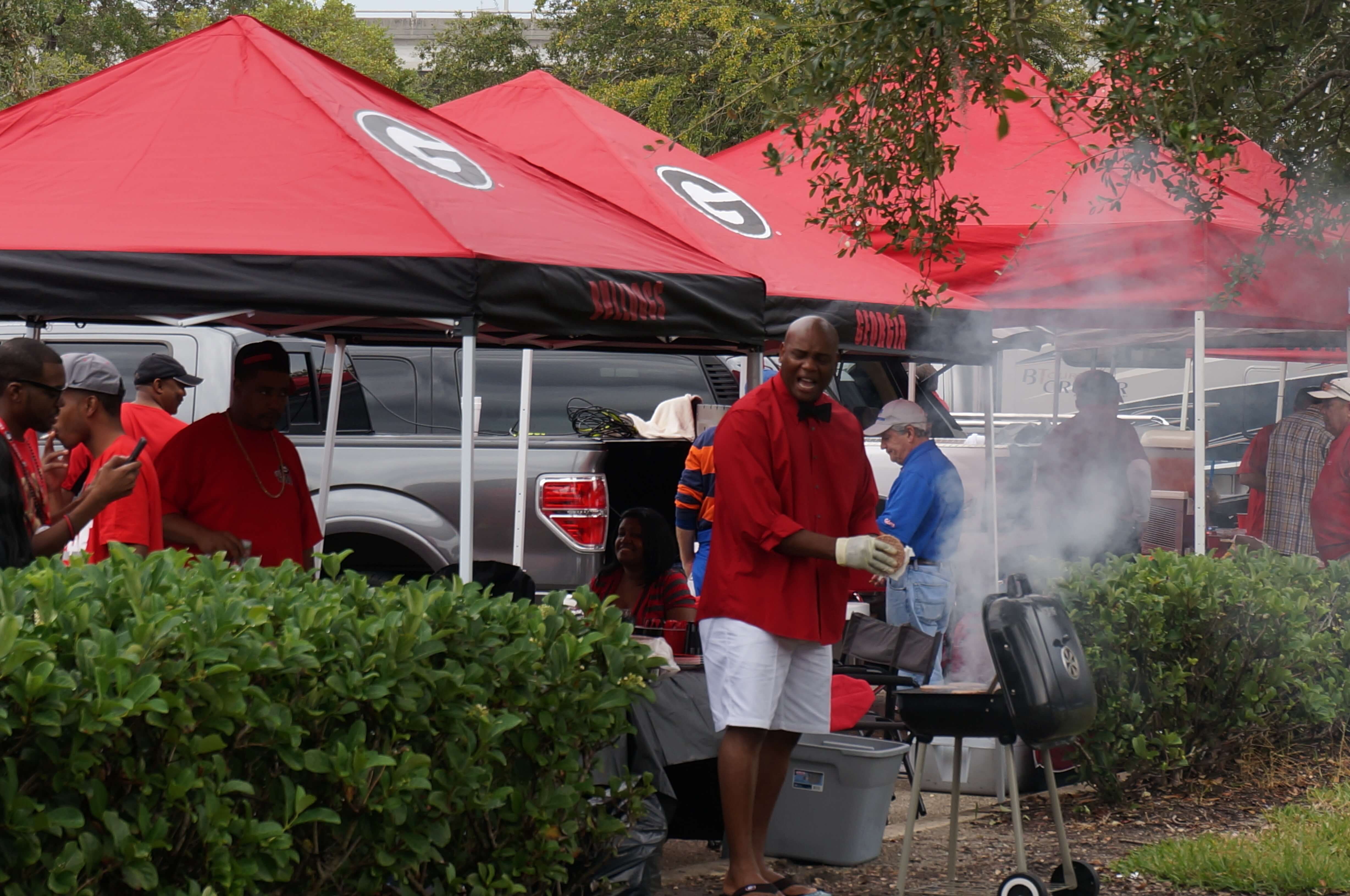 Georgia Tailgaters photo by Kathy Miller