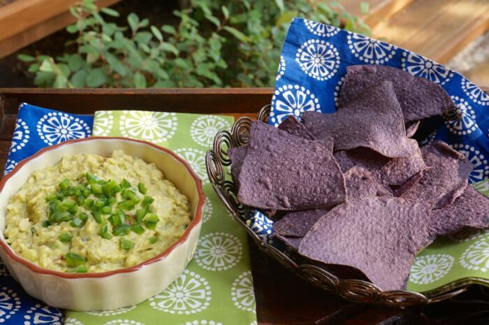 Guacamole with Jalapeno photo by Kathy Miller