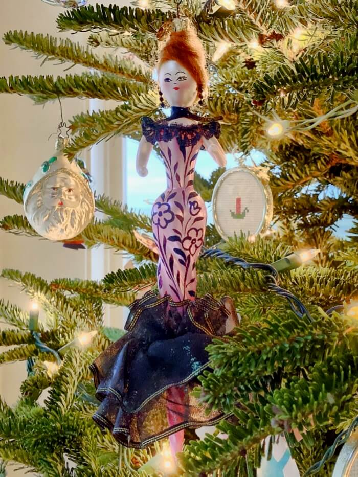 Miss Kitty Christopher Radko ornament photo by Kathy Miller