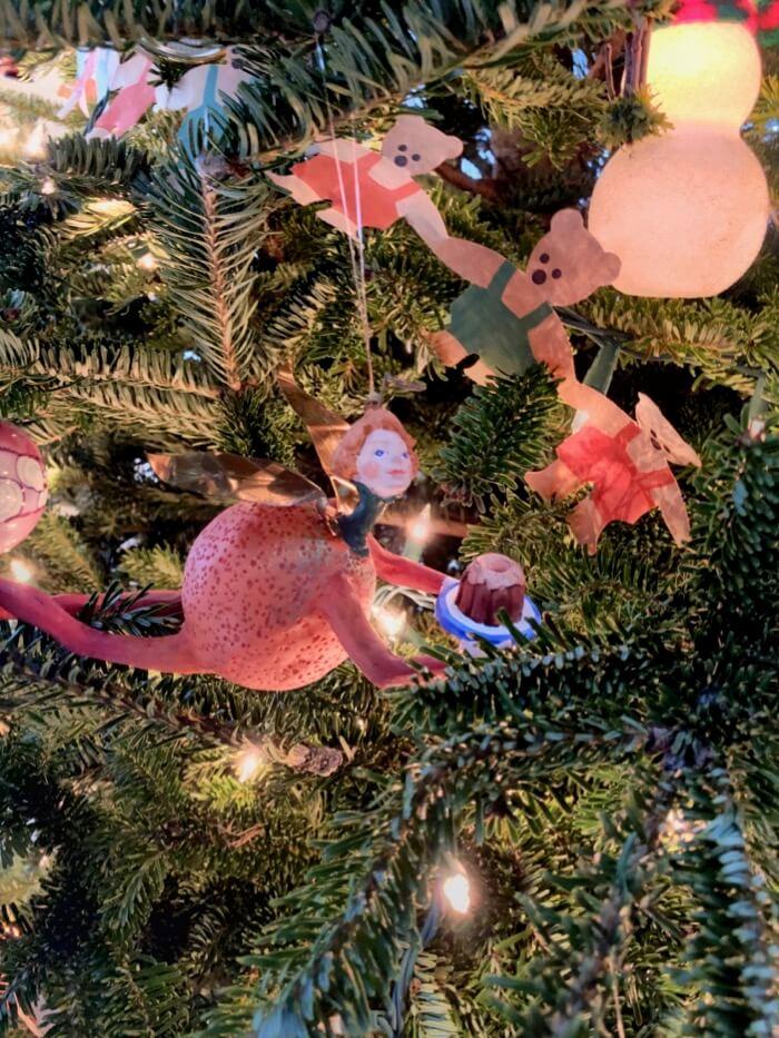 Orange Tutti Frutti ornament photo by Kathy Miller