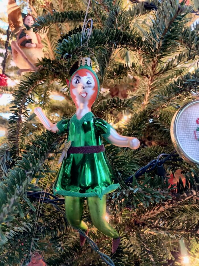 Peter Pan ornament photo by Kathy Miller