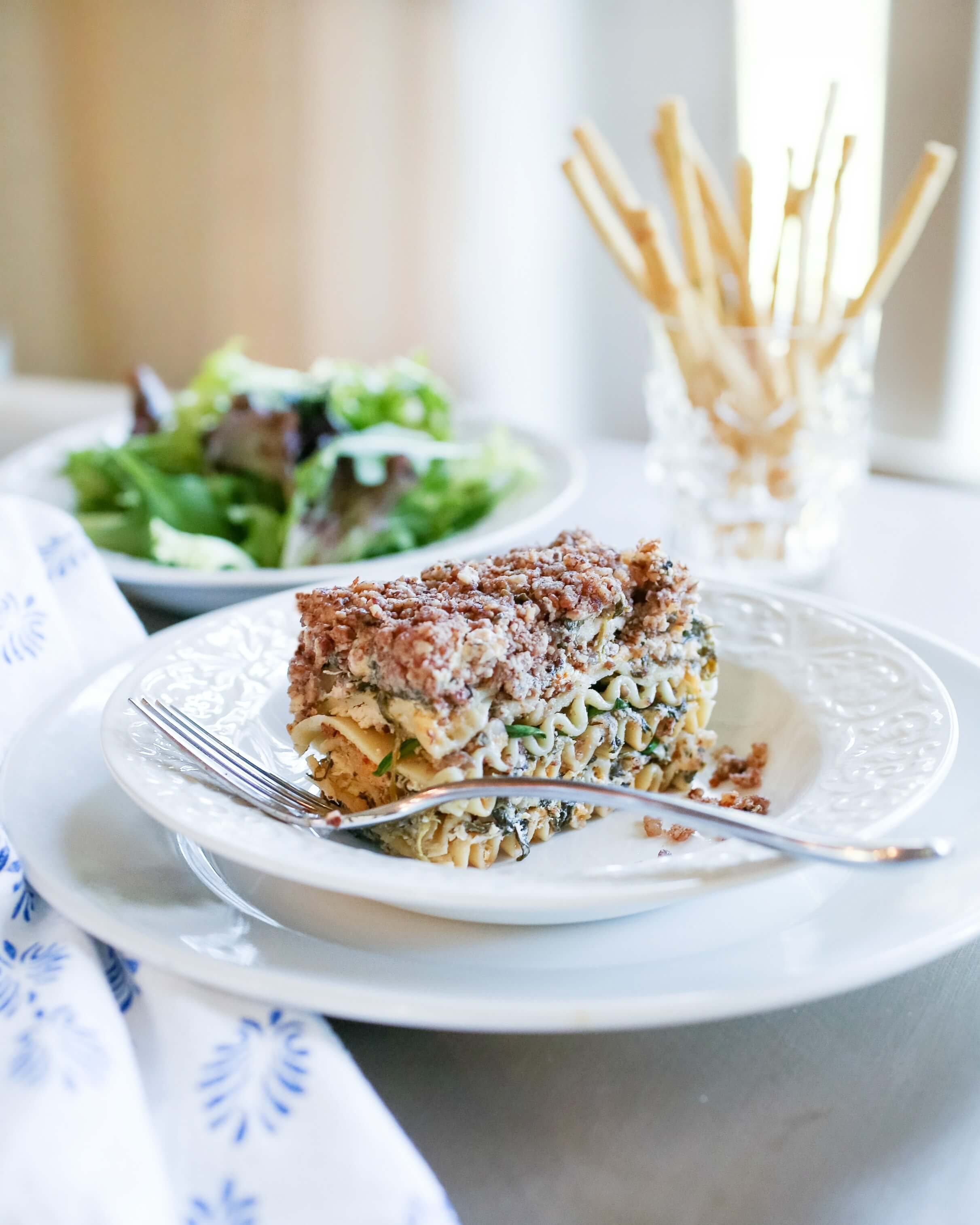 Chicken Florentine Lasagna photo by Susan Scarborough